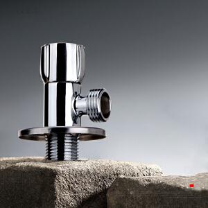居逸纯铜角阀全铜八字阀冷热水通用止水阀三角 GE5002010