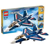 乐高创意百变系列31039蓝色能量喷气飞机LEGO Creator积木玩具