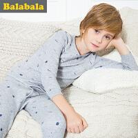 巴拉巴拉 童装儿童保暖内衣套装冬装男童秋衣秋裤套装