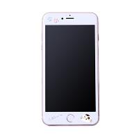 洛夫特 苹果6钢化膜彩膜全屏覆盖iphone6s手机贴膜前卡通浮雕可爱