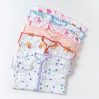 davebella戴维贝拉男女宝宝婴儿夏季纱布棉分脚睡袋