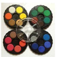 捷克酷喜乐KOH-I-NOOR便携式固体水彩颜料 写生固体水彩12色 24色36色