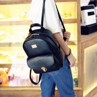 新款韩版潮甜美淑女双肩背包学院风双肩包包中学生书包旅行包