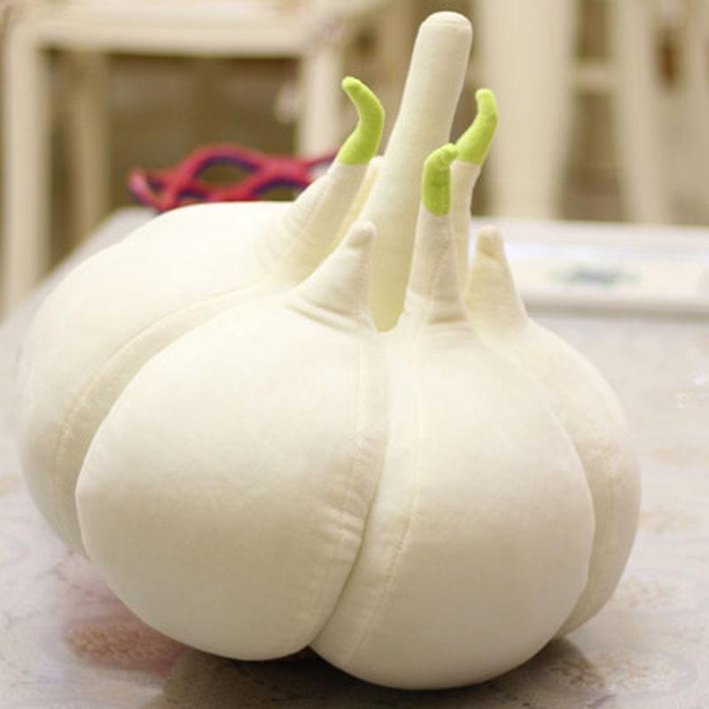 youcaiyi创意个性大蒜头可爱蔬菜卡通抱枕大蒜公仔毛绒玩具蒜你狠生日