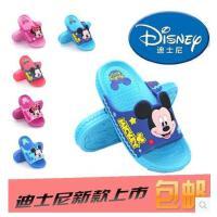 包邮迪士尼夏季儿童鞋男童防滑女童凉拖鞋婴儿学步鞋宝宝凉鞋