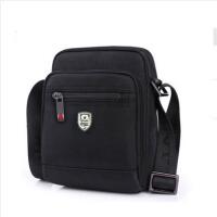 男士斜挎包单肩包男女专用牛津布电脑包申派品牌包包