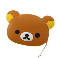 可爱卡通轻松熊 iphone4/4s 5 手机耳机绕线器 鼠标缠线器 收纳器