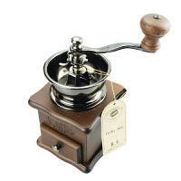 台湾原装BE8521A原木手摇磨豆机/咖啡研磨机 家用磨咖啡豆机