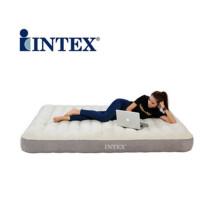 INTEX充气床垫单人加大双人加厚气垫床居家户外帐篷床 64701#99*191*25CM标配