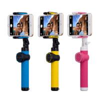 包邮 MOMAX 摩米士 自拍器 蓝牙手机自拍杆 自拍神器  智拍器 杆通用迷你折叠 14CM-150CM 4种不同长度 送三角架和特效镜头