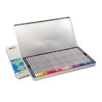 秘密花园 填色 MARCO马可油性彩色铅笔 马可7100-24TN/36/48/72色铁盒装彩色铅笔