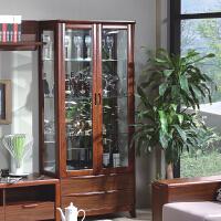 御品工匠 实木酒柜 餐柜 橱柜 展示架 橡木家具 现代中式 K0785