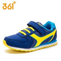 【满200减100】361童鞋 男童运动鞋儿童中大童网面跑鞋学生魔术贴跑步鞋