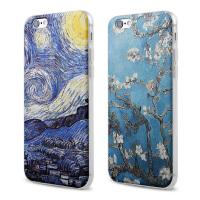 【全国包邮】hidog 苹果iPhone6手机壳创意个性6plus保护套硅胶浮雕5s外壳文艺