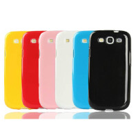 1件包邮    三星 I9300 手机壳 I9308 手机套 硅胶软胶套S3 保护壳 保护套外壳 果冻色彩 缤纷生活