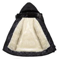 冬棉衣男装中老年爸爸装加厚男款棉袄外套棉服