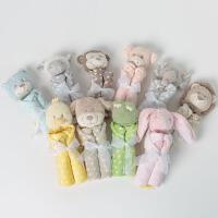 davebella戴维贝拉 男女宝宝婴儿秋季新款可爱动物浴巾