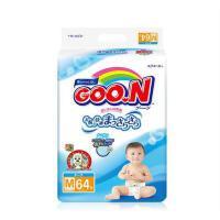 【当当海外购】日本进口 大王GOO.N维E 新生婴幼儿纸尿裤 M64