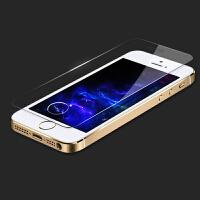 【包邮】确悦 iphone5s钢化玻璃膜 苹果5S手机钢化膜 5C屏幕保护