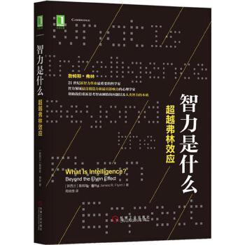 包邮 智力是什么:超越弗林效应 心 励志心理学入门 心理学社会心理学 管理心理学 智商治理测试试验书
