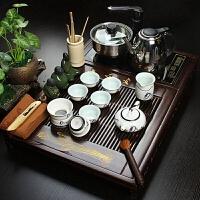 尚帝 整套功夫茶具 实木茶盘茶具电磁炉茶盘套装 实木茶盘2014WHTZ12K