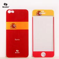 【全国包邮】benks 苹果5s钢化玻璃膜 iphone5s钢化膜 iphone5s彩膜5s