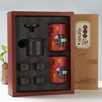 至茶至美 特色茶礼盒 安溪铁观音清香型特级茶叶+吾陶茶具套装 茶叶礼盒 包邮 150g