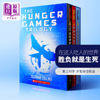饥饿游戏 英文原版3本套装  The Hunger Games Trilogy Box Set 3 Books Collection