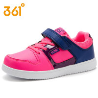 【满200减100】361度童鞋 女童儿童运动鞋春秋款中大童滑板鞋休闲潮鞋