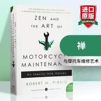 华研原版 禅与摩托车维修艺术 Zen and the Art of Motorcycle Maintenance 英文原版小说 进口正版