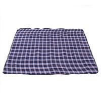 盛源 多人野餐垫户外地垫绒面防潮垫加厚儿童爬垫地垫地席 蓝色