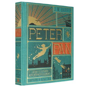 华研原版 小飞侠彼得潘全英文版原版立体书 Peter Pan 儿童文学经典之作 pop up boo