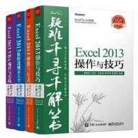 疑难千寻千解Excel2013套装:函数与公式 VBA编程与实践 数据透视表 操作与技巧(套装共4册)