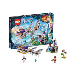 [当当自营]LEGO 乐高 Elves 精灵系列 风之精灵 艾拉的飞马雪橇 积木拼插儿童益智玩具 41077