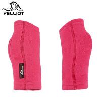【618返场大促】法国伯希和PELLIOT户外运动冬保暖抓绒手套 男女通用无指露指手套