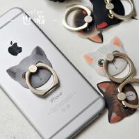 热卖新品 �有囊策飨盗惺只�指环支架  韩国可爱创意懒人指环扣 华为 小米 iphone7 支架