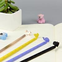 【当当自营】languo蓝果 LG-40095 可爱小动物 书签尺 颜色图案随机 单个销售