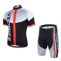男女款自行车山地车服户外运动骑行服短袖长袖套装