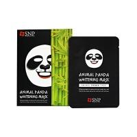 韩国SNP动物面膜 春夏美白补水保湿控油 熊猫款(10片/盒)