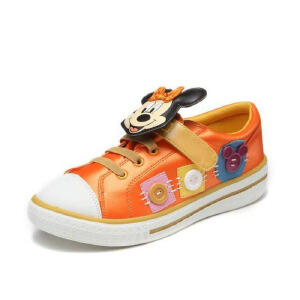 鞋柜SHOEBOX 春秋可爱女童魔术贴舒适女童鞋