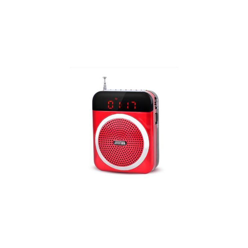 夏新(amoi)v88 便携式插卡音响 广场舞音箱老人收音机小蜜蜂扩音器mp3