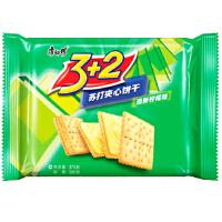 [当当自营] 康师傅 3+2 苏打 夹心 清新 柠檬 饼干 375g