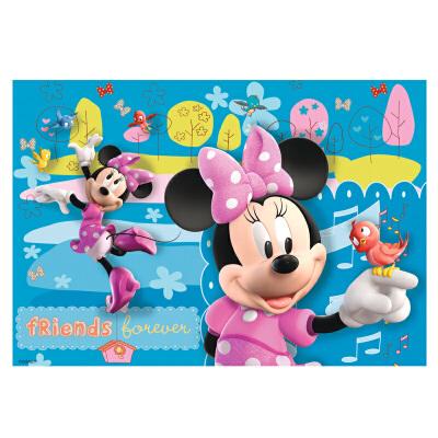 [当当自营]Ravensburger 睿思 迪士尼系列 米老鼠 (2x24片) 儿童益智卡通拼图玩具 R088621【当当自营】德国进口儿童益智拼图玩具