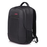 巴米克双肩背包电脑包15.6寸防水防震15寸男女款笔记本背包旅行包大容量学生书包