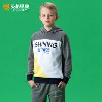 英格里奥童装儿童男装男童运动套装儿童卫衣865S