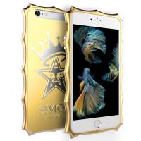 捷力源苹果6/6s手机壳 iPhone6/6S手机套 6SPLUS金属边框壳6Splus 金属皇冠手机壳 保护套