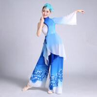 古典舞演出服2017新款秋季舞台扇子舞表演服伞舞舞蹈服装女