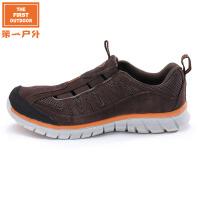 美国第一户外 新款网布徒步鞋透气防滑轻便男女户外休闲鞋