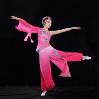 古典舞演出服女款扇子舞蹈服装独舞艺考表演服江南伞舞广场舞