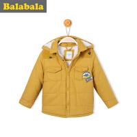 巴拉巴拉童装男童棉服小童宝宝上衣 冬装新款儿童棉衣棉袄
